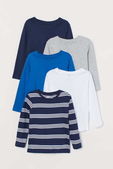 5-Pack Jersey Tops