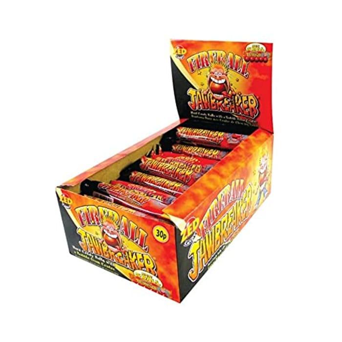 Fireball Hot Jawbreaker Bubblegum Sweets (Pack of 30) - 10% Voucher