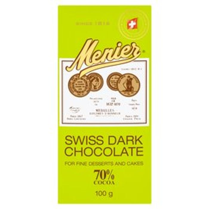2 for £1.50 - mernier Dark chocolate 100g