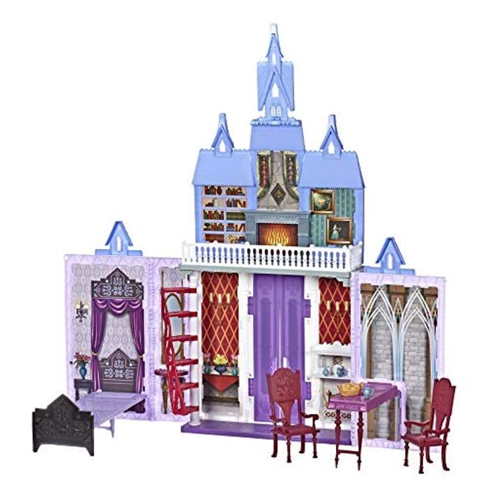 Disney FROZEN Fold and Go Arendelle Castle Playset - Now £26.20!