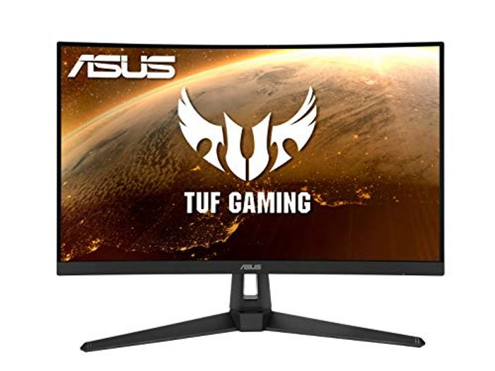 ASUS TUF Gaming VG27WQ1B Curved Gaming Monitor 27 Inch WQHD