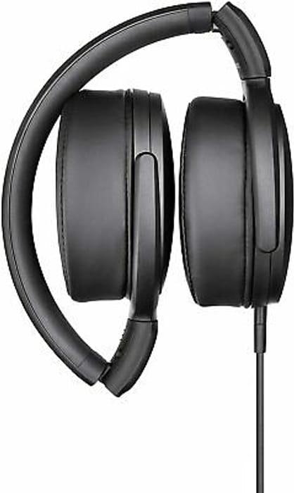 Sennheiser HD 400S Circumaural over Ear Headphones Black - Now £30!