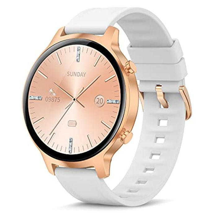 """Personalized 1.3"""" Full Touch Fitness Tracker Smart Watch - Only £27.59!"""