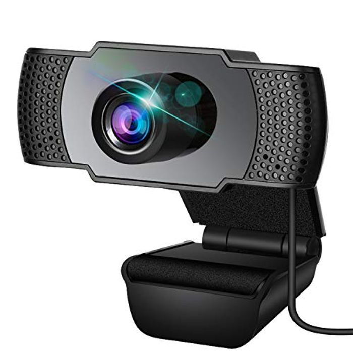 DEAL STACK - Webcam with Microphone with Support 3D Denoising + 20% Coupon