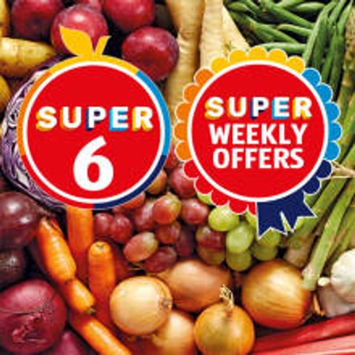Aldi Super 6-Iceberg Lettuce, Celery, Broccoli 39p, Baby Pots 59p, Cherries 99p