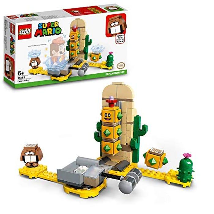 LEGO 71363 Super Mario Desert Pokey Expansion Set - Now £10!