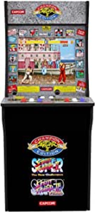 Street Fighter Arcade Machine Games - Only £200.85!