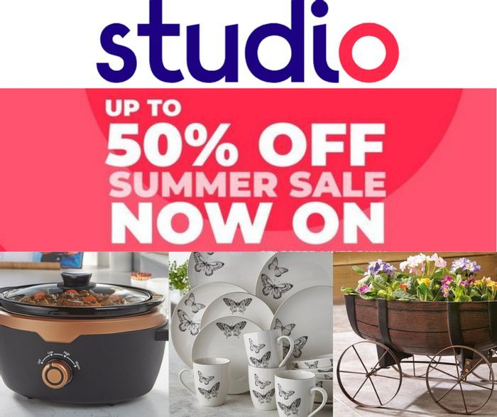 Studio Up To 50% Off Summer Clearance Sale - Fashion, Home & Kids