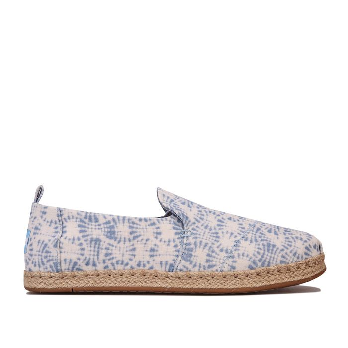 Toms Womens Deconstructed Rope Espadrille Pumps