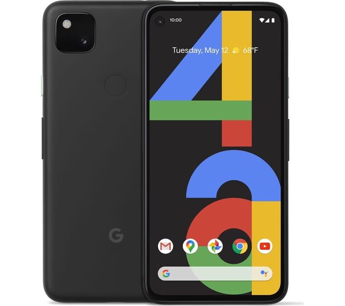 *SAVE £30* GOOGLE Pixel 4a - 128 GB, Just Black