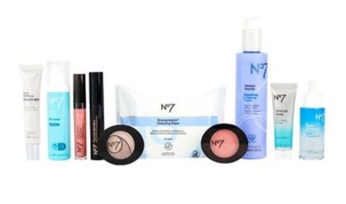 No7 Summer Beauty Blockbuster Bundle - worth £127, with Code MAQM25 only £21.50