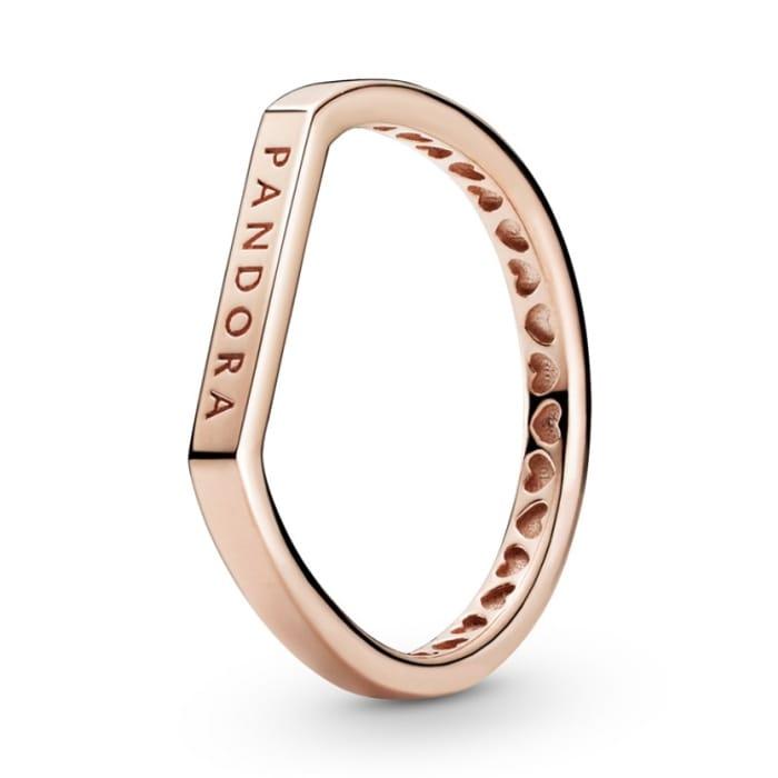 Pandora Rose Logo Bar Stacking Ring  Delivered!