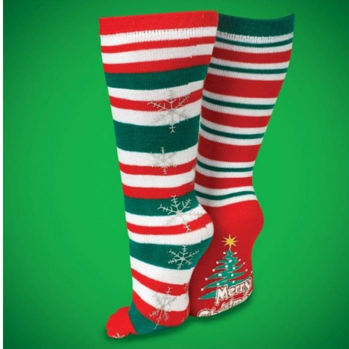 Best Price! Christmas Stripey Toe Socks at Hawkin's Bazaar
