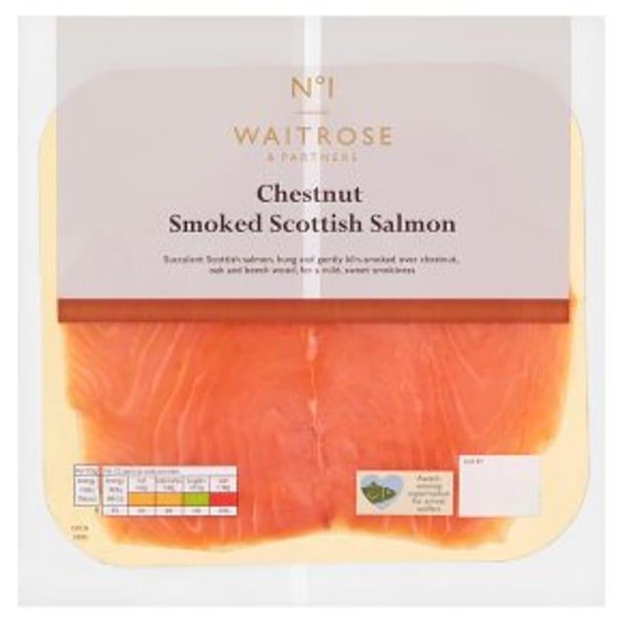 No.1 Chestnut Smoked Scottish Salmon 100g