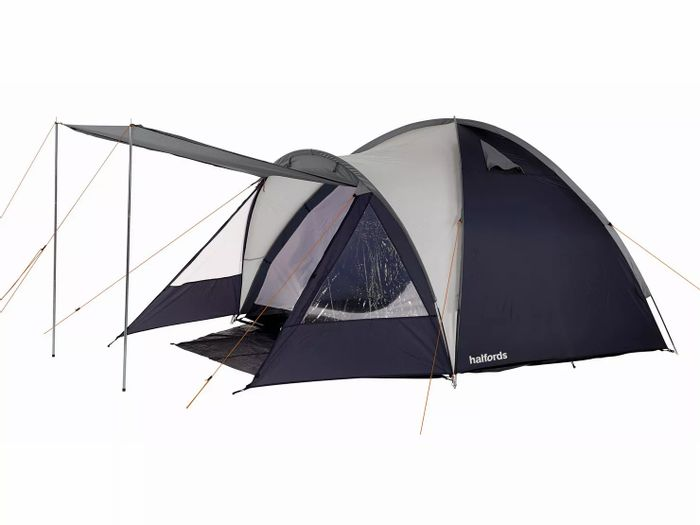 *SAVE £5* Halfords 4 Person Double Skin Tent