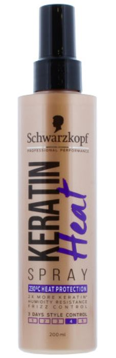 Schwarzkopf Keratin Heat Protect Spray 200Ml