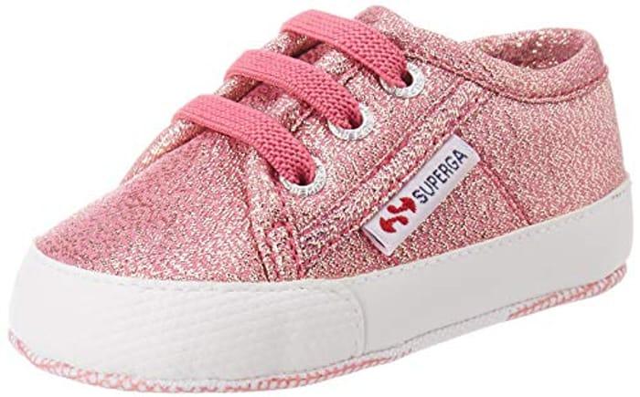 Superga Girls 4006-Microlameb Birth Shoes