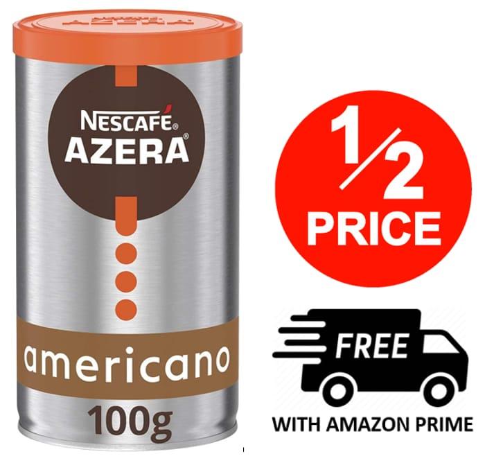 Nescafe Azera Americano Instant Coffee Tin, 100g