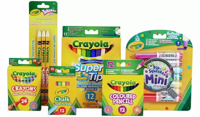 Crayola 70 Piece Stationery Set - £10 Each or 2 for £15