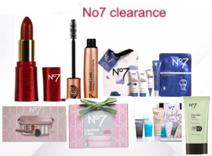 No7 Clearance New Lines Added Price From £5