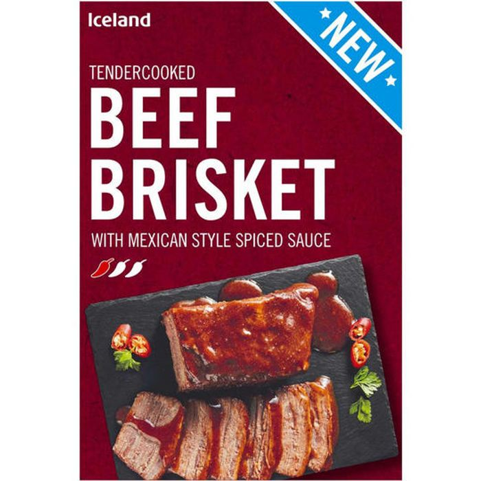 Beef Brisket with Mexican Style Spiced Sauce 400g