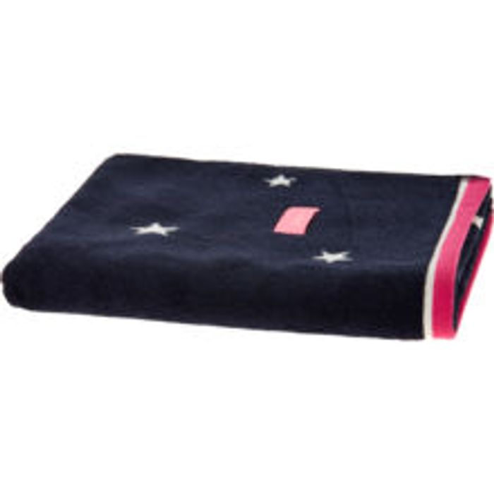JOULES Navy Stars Hand Towel