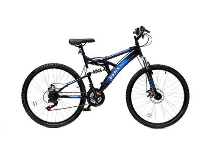 Best Price! Basis 1 Full Suspension Mountain Bike