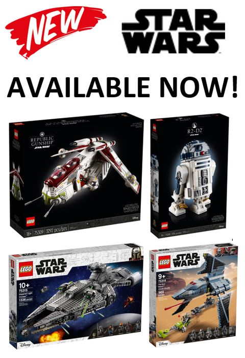 Heads Up! New LEGO STAR WARS - Out Today!