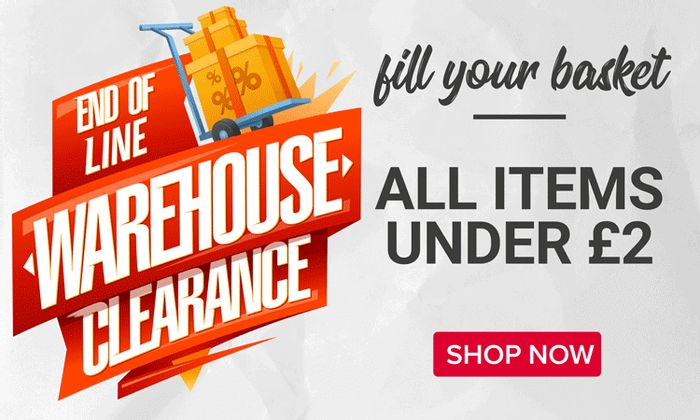 FREE DELIVERY on Clearance Items for This Weekend Only from CraftStash