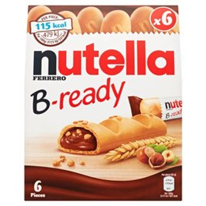 Nutella B - Ready 6 Pieces 132g