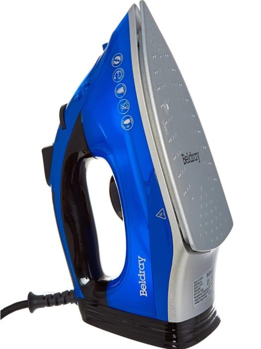 BELDRAY Blue Steam Iron 2200w