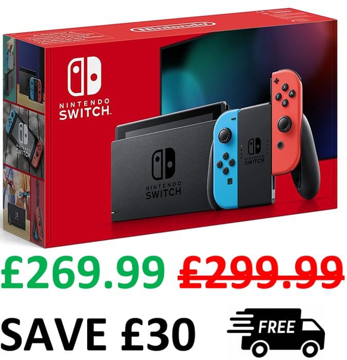 Nintendo Switch (Neon Red/Neon Blue)