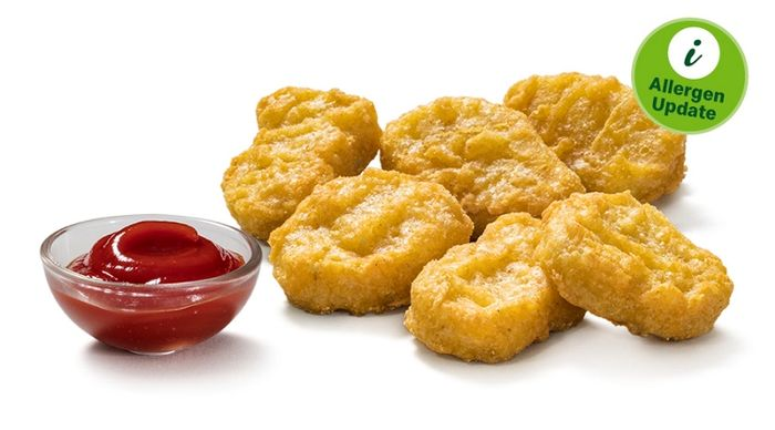 6 Chicken McNuggets for 99p via McDonalds App on Sunday 1st August.
