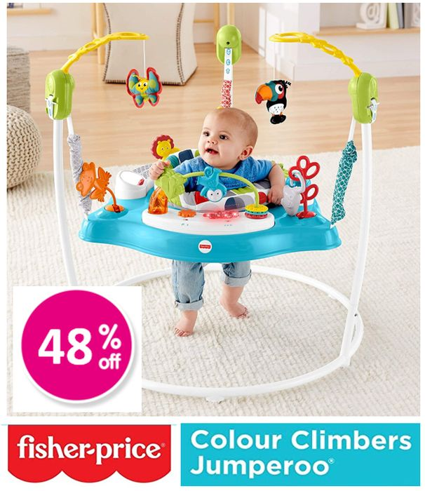 Fisher Price Colour Climbers Jumperoo ***4.7 STARS***