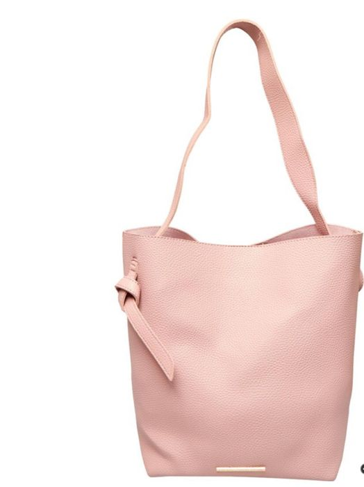 French Connection Womens Slouchy Tote Pink