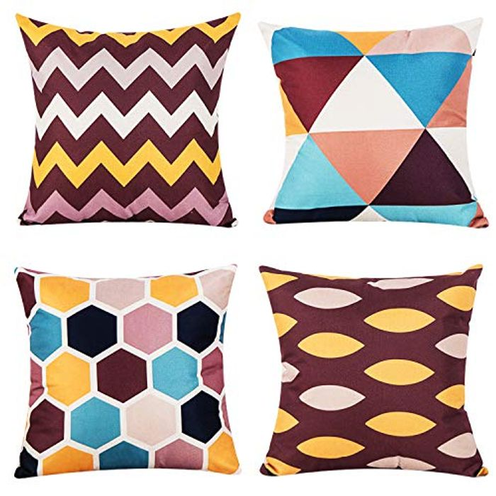 Set of 4 Pillow Covers