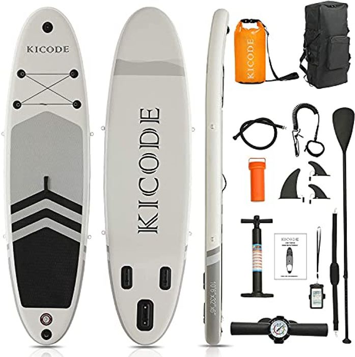 Inflatable Stand up Paddle Board (6 Inches Thick)