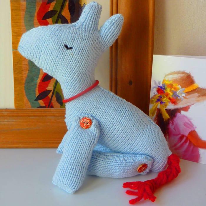 Horse Knitting Pattern Just 20p