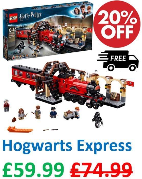 SAVE £15 - LEGO Harry Potter - Hogwarts Express Train (75955) *4.9 STARS*