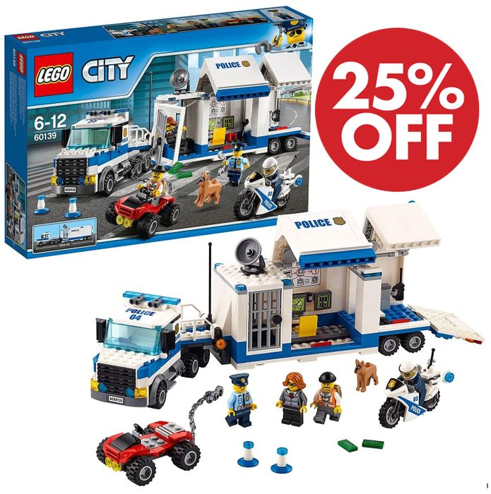 SAVE £10 - LEGO CITY - Police Mobile Command Centre (60139)