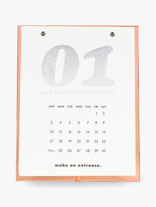 Coral Desktop Calendar