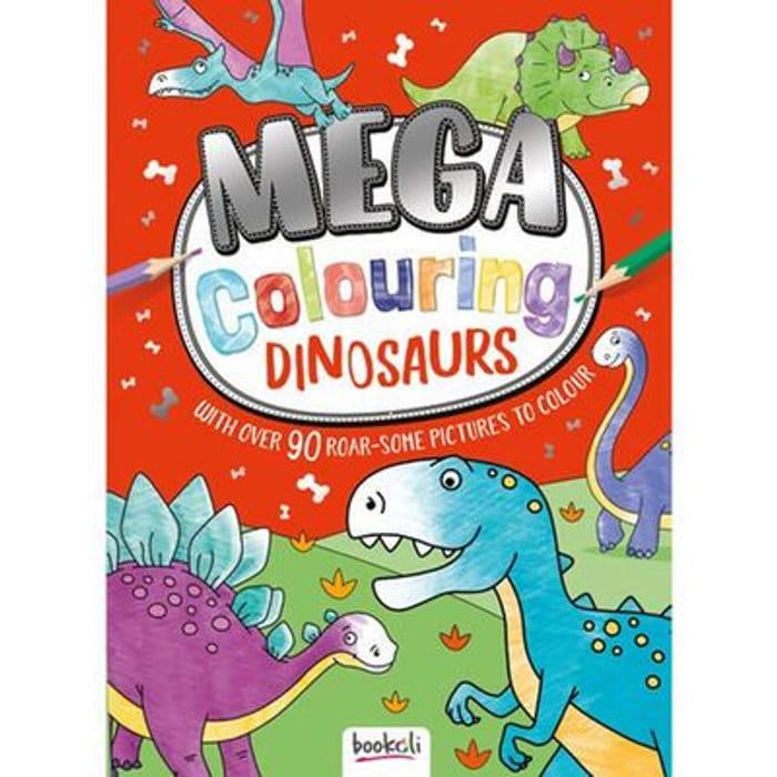 Mega Colouring Dinosaurs