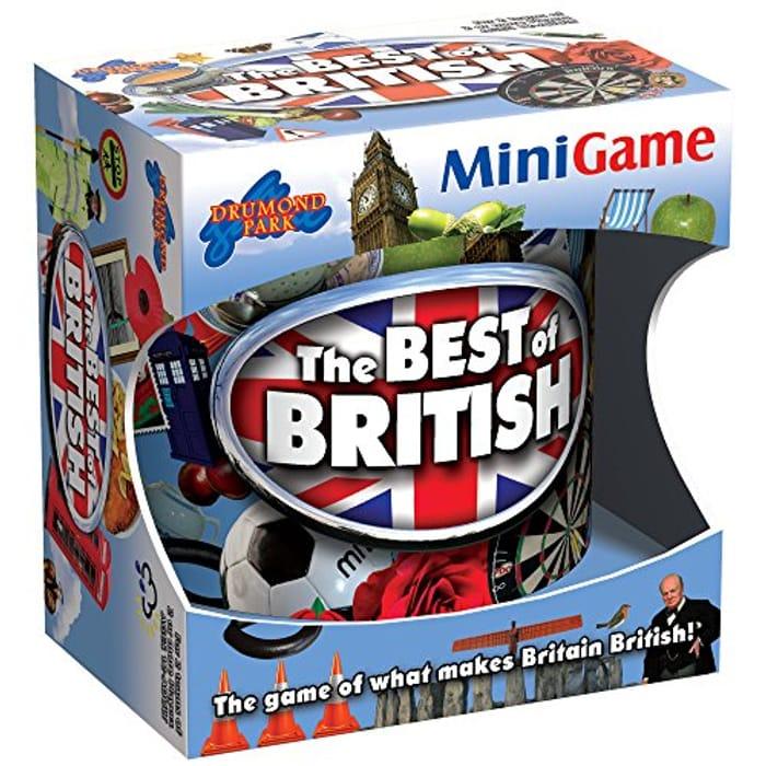 Drumond Park 1300 Logo, Multi, Best of British Mini Game