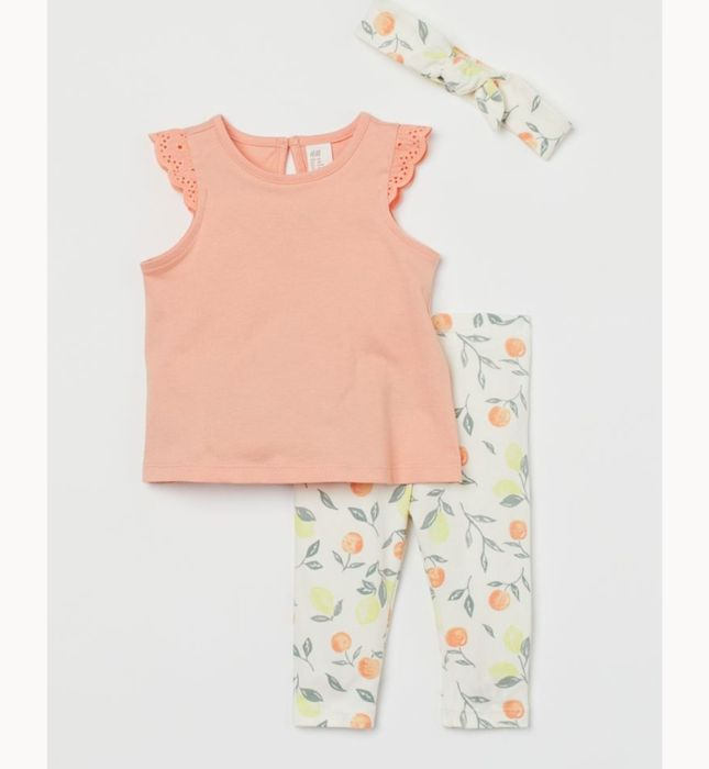 3-Piece Cotton Set Down From £8.99 to £4