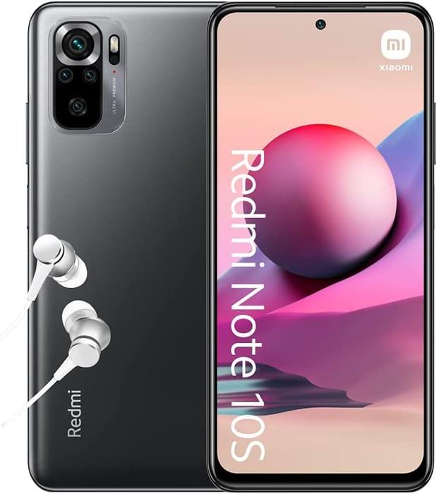 *SAVE £50* Xiaomi Redmi Note 10S - Smartphone 6GB+64GB, 6.43 AMOLED DotDisplay