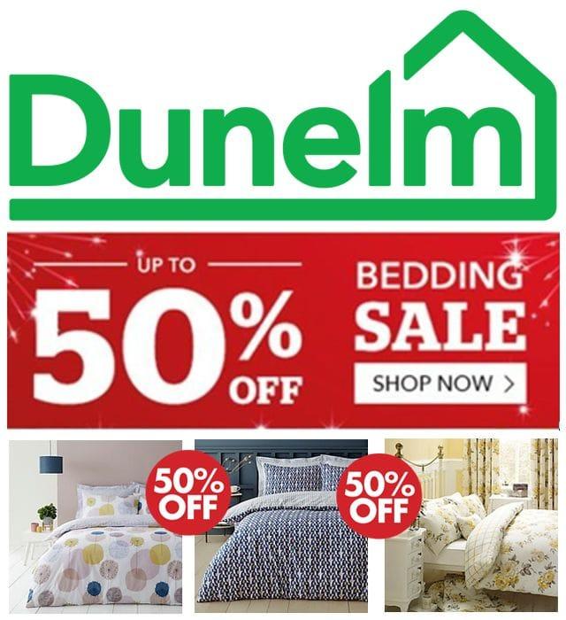 Special Offer! DUNELM - 50% OFF Duvet Cover Sets