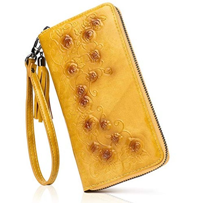 MEITRUE Large Capacity Leather Long Ladies Purse - Only £5.99!