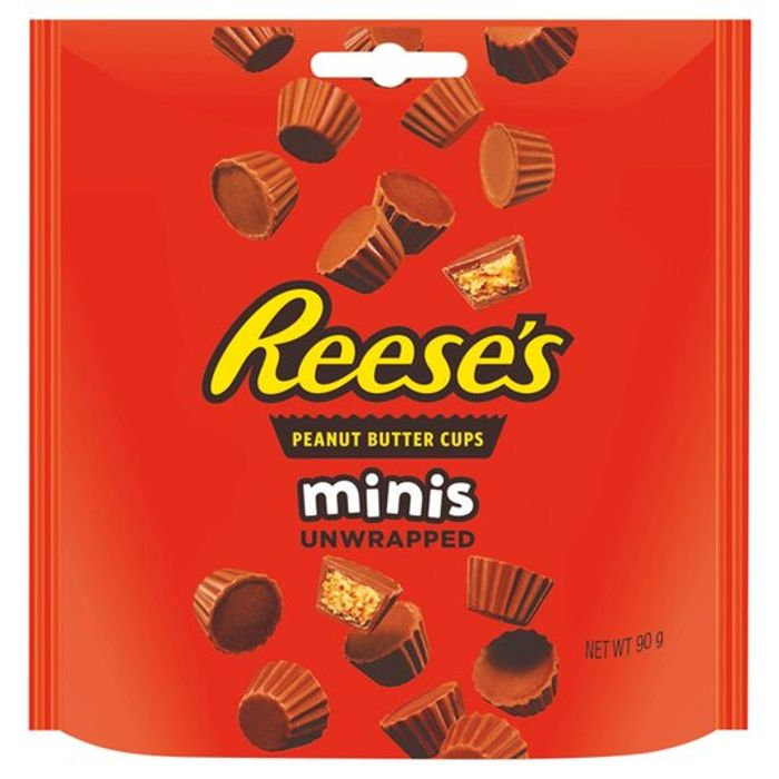 Reese's Minis Unwrapped Peanut Butter Cups 90g