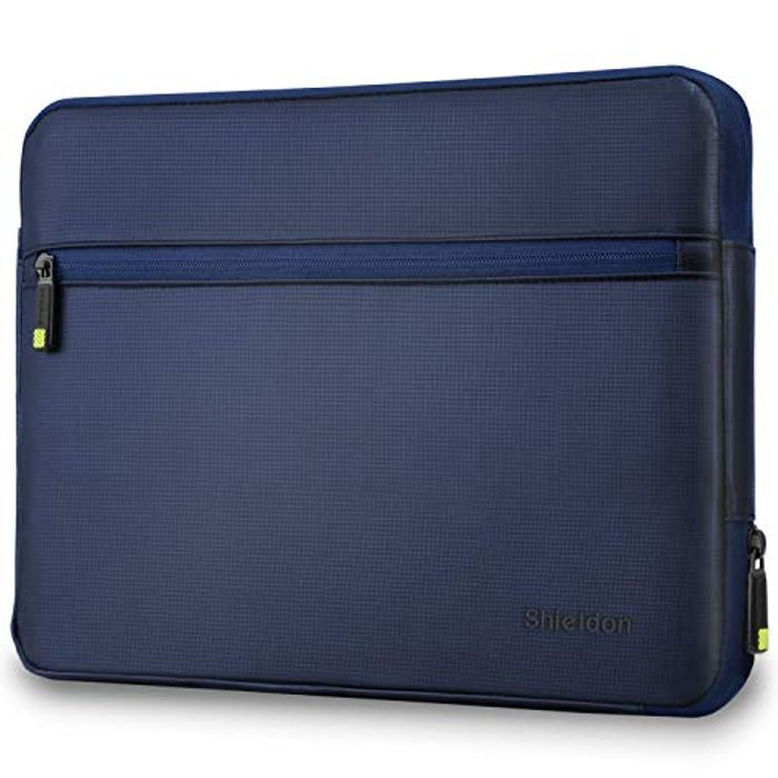 """13.5"""" Water Repellent Laptop Case with Extra Zip Pocket with £10 off Coupon"""