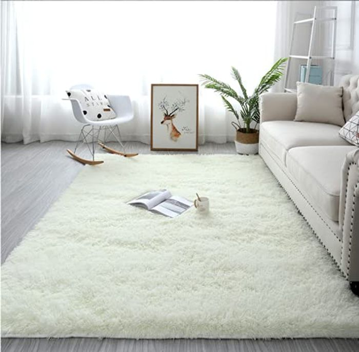 Tinyboy-Hbq Anti Slip Soft Fluffy Floor Area Rugs Large Carpets - Only £16.99!